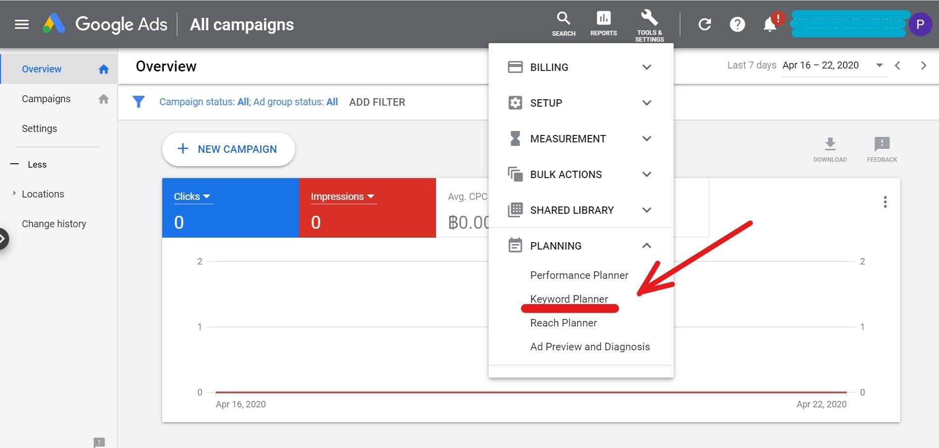 โปรแกรมหา keyword, google adwords ใช้ยังไง, หา keyword ฟรี